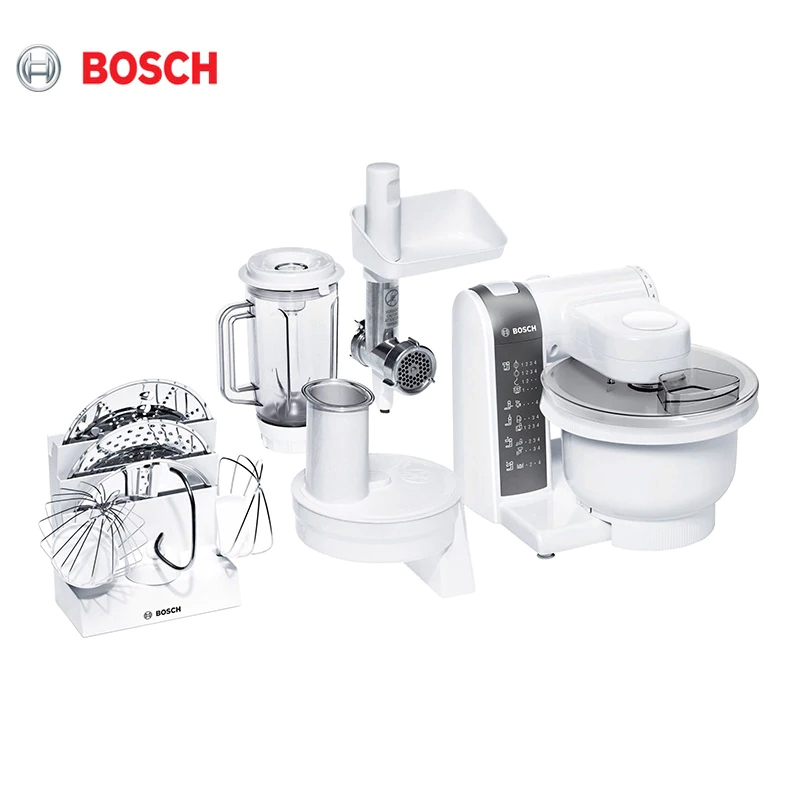 Food Processor Bosch MUM4855 meat grinder juicer vegetable cutter MUM 4855   Kitchen Machine Planetary Mixer with bowl stainless steel dry fruit machine pet food dehydrator machine vegetable dryer drying machine 6 trays zf