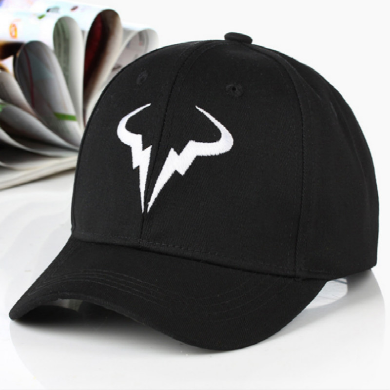Rafael Nadal   Baseball     Cap   Hip Hop Summer Cotton Tennis Player Dad Hat   Cap   Embroidery Outdoor Curved Sports Hat Gorras Male Hat
