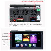 GPS Navigation 7 Inch 7088D Android Mirror Link Bluetooth Wifi Touch Screen 2 DIN Car Audio Stereo 1G 16G 4 Core FM Radio