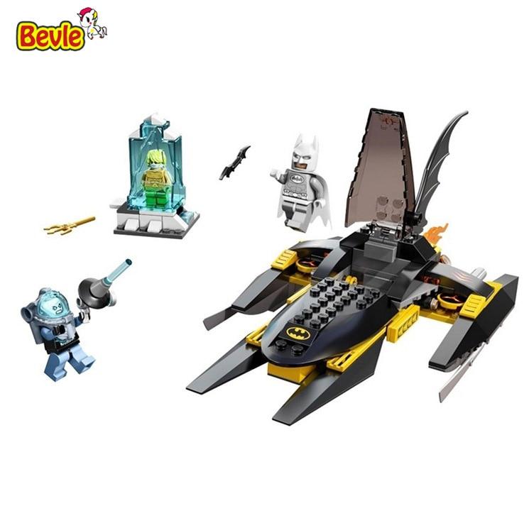 Bevle Decool 7102 Super Hero Batman Aquaman Mr Freeze Figure Bricks Building Block Toys Kid Gift
