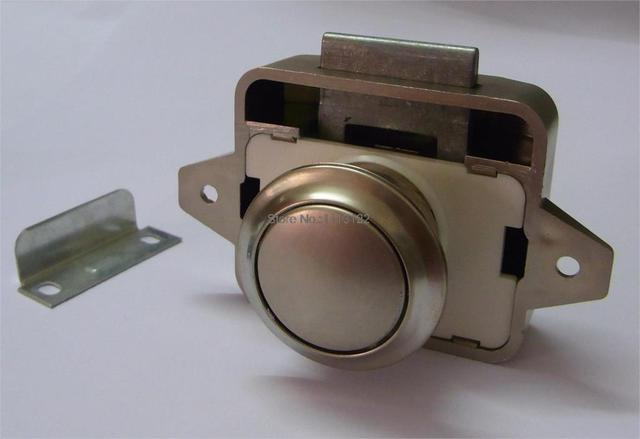 Caravan Lock Without Key For Cupboard Push Lock With Latch