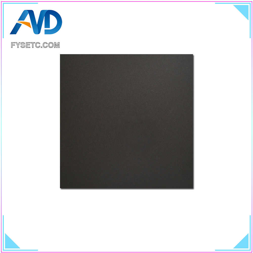 1pc frosted heated bed sticker printing build sheets 400x400mm build plate tape platform sticker with 3m for cr 10 3d printer