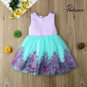 Toddler Kids Baby Girls Summer White Dresses Sleeveless Party Prom Costume Girl Pageant Dancing Frocks Lace Tutu Layered Dress(China)