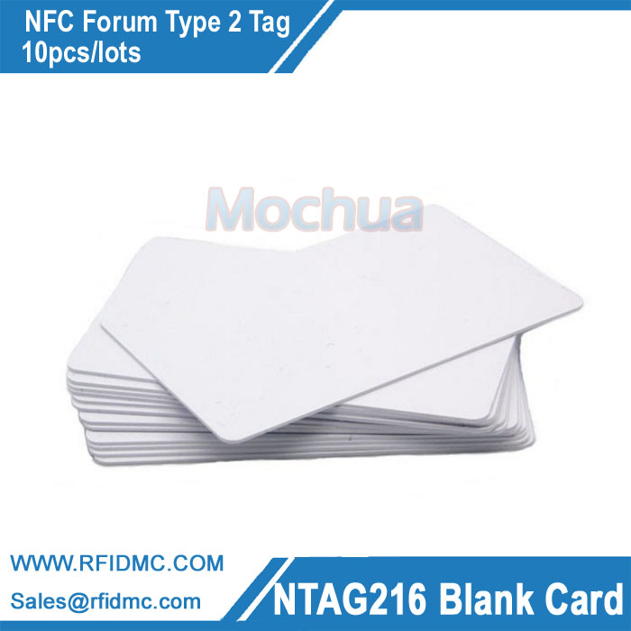 NTAG216 Card NFC Card NFC Tagworks With All NFC Enabled Devices-Free Shipping
