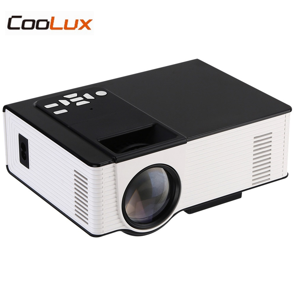 VS314 Mini LED Projector 1500 Lumens 800 x 480 Pixels Media Player Support 1080P AV HDMI VGA 0.9-6m Home Theater Proyector aun projector e07 for home theatre education of children 640 480 pixels led projector set in hdmi vga usd prot 1080p led tv