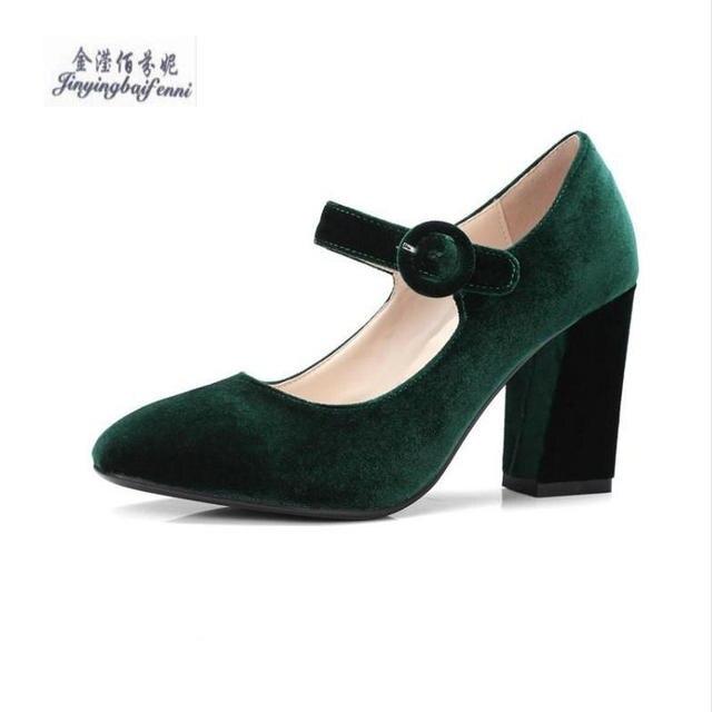 Chaussures à bout rond vertes femme qntNd
