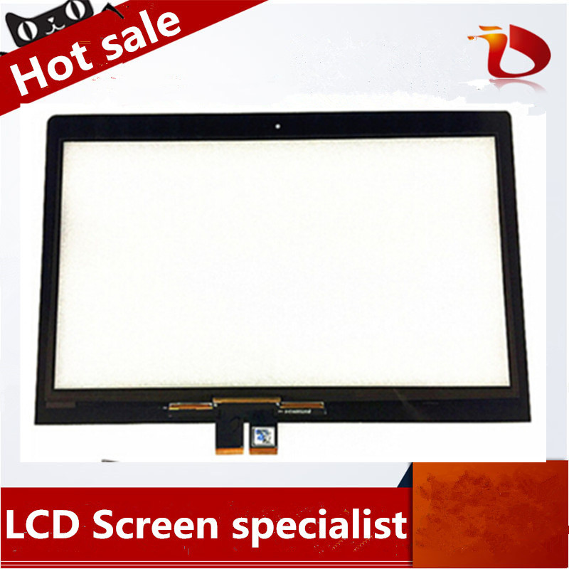 High quality 14.0inch Free shipping wholesale touch screen digitizer glass for Lenovo FLEX 3 14 digitizer for lenovo yoga 500 14 0 free wholesale touch screen digitizer glass for for samsung ativ book 5 np540u4e k01us ultrabook digitizer mcf 140 0847 v2