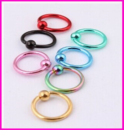 Manufacturers selling eyebrow rings body piercing jewelry nose rings and lip ring seal ring charm body jewelry piercings