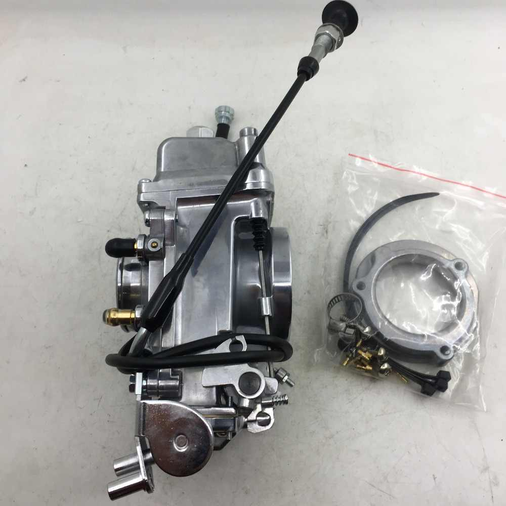 SherryBerg carburettor CARB CARBURETOR Model HSR48 Carb for Harley EVO Twin  Cam Evo Carburettor FOR Mikuni HSR48 HRS48 POLISHED