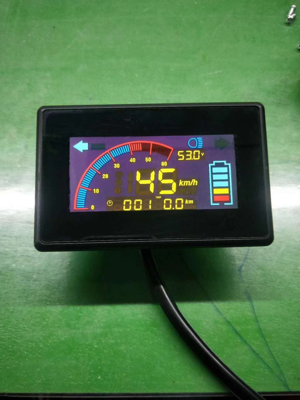 lithium battery bike display colored_201812283