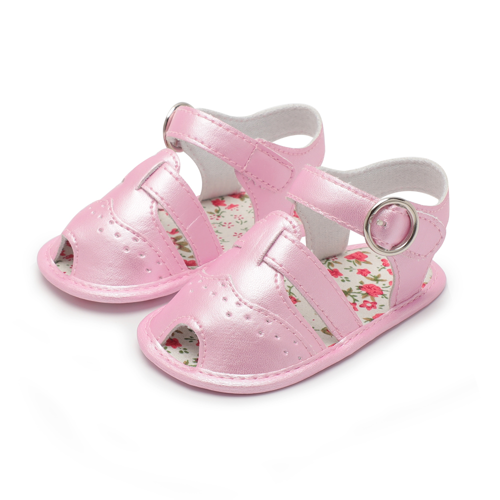 New Products Hot Original 3 Color Fish Mouth Princess Sandals Soft Bottom Baby Toddler Shoes Baby Sandals