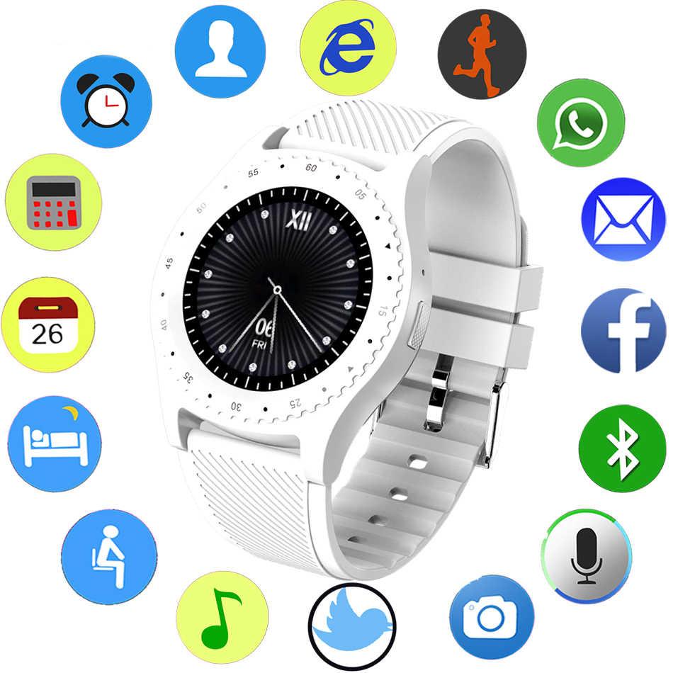 LIGE Смарт часы мужские женские спортивные цветной светодиодный сенсорный экран