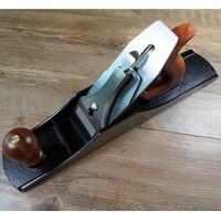 Di alta qualità 5 1/2 in stile europeo  pialla la lavorazione del legno in acciaio inox progettazione  strumenti per intagliare il legno-in Set di attrezzi manuali da Attrezzi su
