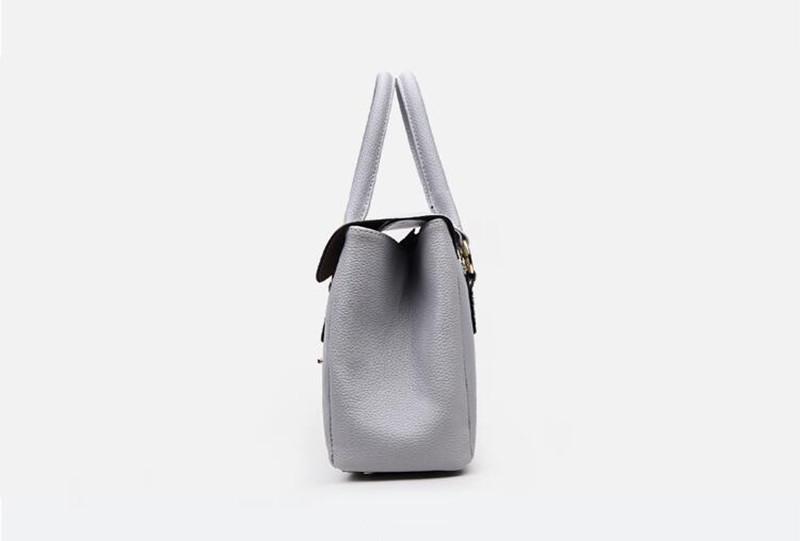 5 grey women handbag