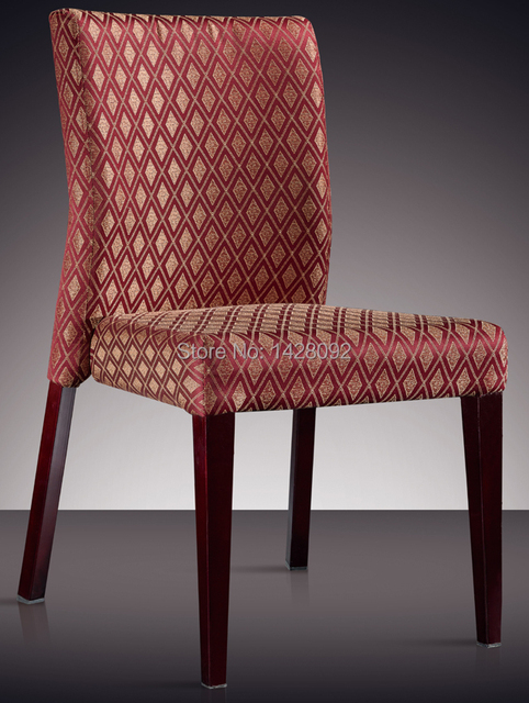 quality modern fully upholstered hotel chair dining chair LQ-L8071