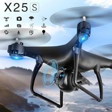 LH-X25W Selfie Foldable GPS Positioning RC Drone Quadcopter with 720P Camera HD Wifi FPV Adjustable Follow Me One Key Return