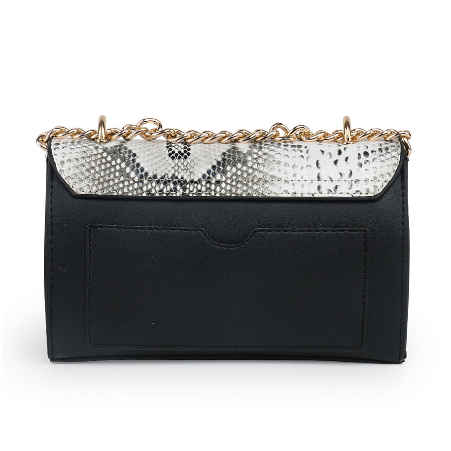 Alligator Crocodile Small Chain bag handbags women famous brand luxury handbag Black women bag designer Crossbody bag for women in Shoulder Bags from Luggage Bags