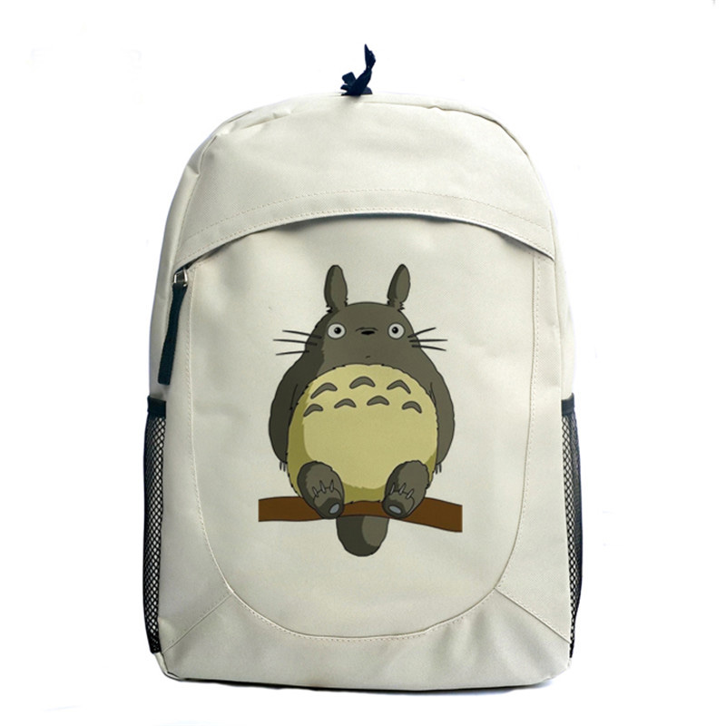 Totoro Anime Cosplay Backpack Ogino Chihiro Cartoon Canvas Travel Backpacks Shoulders School Bag Best Students Gifts anime tonari no totoro cosplay canvas shoulder bag female japanese and korean college wind travel backpack student bag graffiti