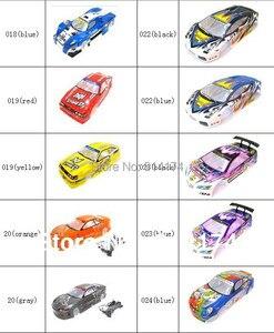 Image 4 - Yukala 1/10 rcカーボディシェル 1:10 r/cレーシングドリフト車 190 ミリメートルhenglong 2 ピース/ロット
