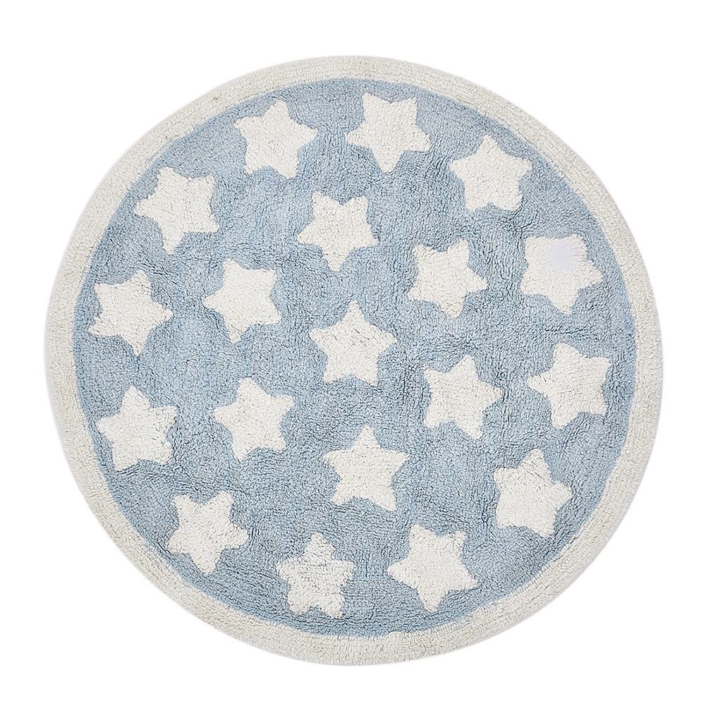 Étoiles nordiques tapis rond tapis de jeu pour enfants tapis de tente tapis de jeu bébé en coton