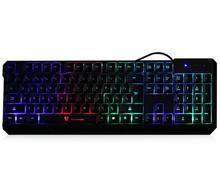 2016 hot sale ABS MotoSpeed K70 ergonómico diseño de 7 colores LED Backlight Gaming Keyboard USB Powered para el escritorio del ordenador portátil