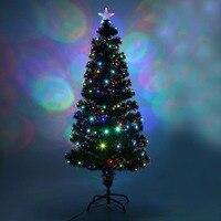 祭屋内屋外カラフルなled変色led光ファイバーライト背の高いクリスマスツリー高級装飾米国プラグ
