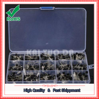 Free Shipping 15 Value 600pcs Transistor TO 92 NPN PNP Kit Set