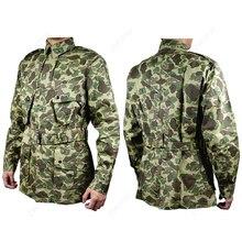 Военная Униформа Второй мировой войны США М42 101 ВВС десантники, военные костюмы, Тихоокеанская утка, камуфляжная куртка