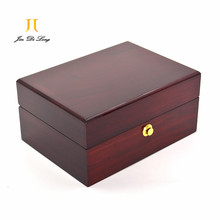 High Quality Wood Rosewood Watch Display Case Luxury Wood Watch Box with Pillow Package Case Watch Jewelry Storage Gift Box
