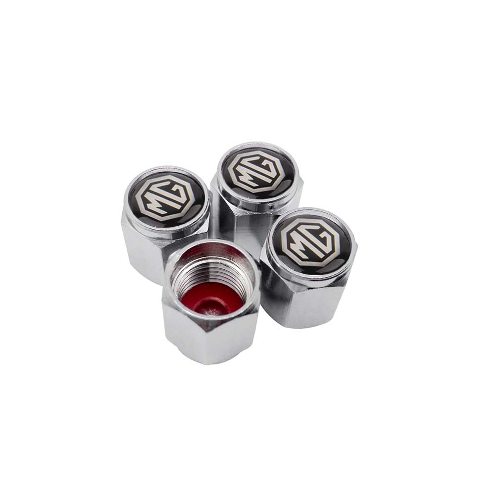 Car Styling Wheel Tire Valve Stem Caps Airtight Cover For MG MORRIS GARAGES MG3 MG5 MG6 GS GT Mg350 MG3SW ZS MG7 TF