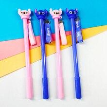 1pcs Creative Cartoon interstellar Stitch 0.5mm needle tube gel pen Student writing neutral pen kids gift Office School pen цена