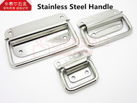 Stainless Steel Knobs Handle For Suitcase Tool Box Knob Air Box Pull Knobs Wooden Box Handle