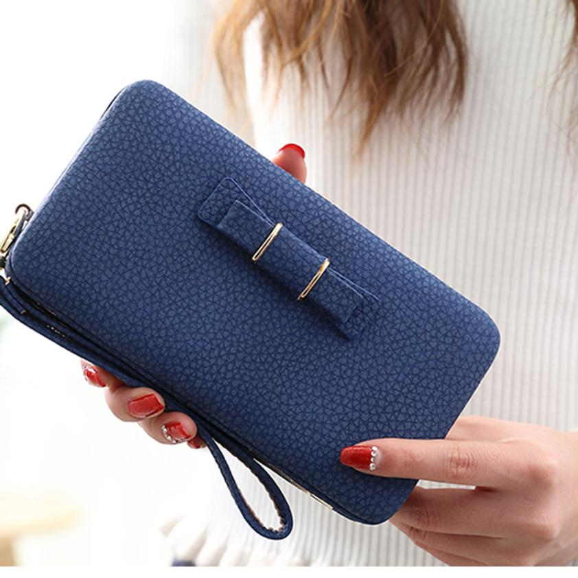 2020 New Women Wallets Dollar Price Long Purse Printing Wallet Card Holder Handbag Lady Bags carteras mujer portefeuille femme