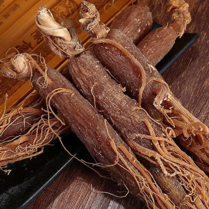 Raiz de Ginseng Vermelho para 10 anos de puro e natural de alta qualidade. radix Ginseng Rubra, melhorar a imunidade, anti-fadiga, anti-envelhecimento