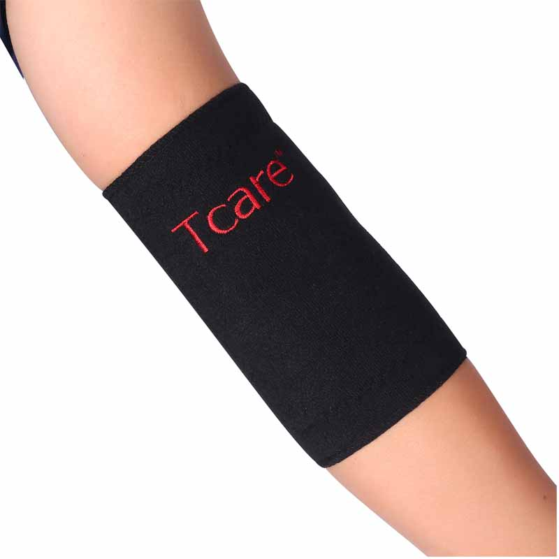 * Tcare 1 Pair Tourmaline Elbow Massager Band Pemanasan Sendiri Siku - Penjagaan kesihatan - Foto 5