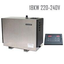 18KW220-240V 50 hzstainless Stahl Heavy Duty kommerziellen Energie Gespräch Dampferzeuger CE 2 Jahre guanratee