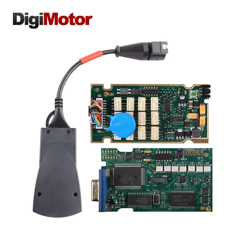Инструмент lexia 3 интерфейс pp2000 полный чип lexia3 средство Програмным 7.83 921815C lexia-3 и пса хз эволюции obd2 сканер автомобиля диагностический инструмент для Peugeot