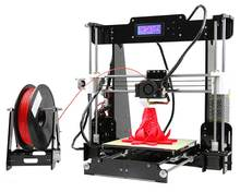 Anet A8 3D Printer with Large Printing Size 220*220*240MM Acrylic Frame Reprap Prusa i3 Desktop DIY Kit in Shenzhen