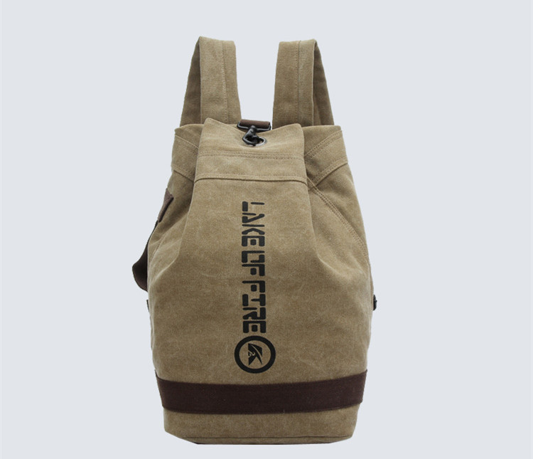ФОТО High Quality Canvas Bag Mens Small Travel Bag Backpack Designer Traveling Luggage Packing Cubes Weekend Bag Men Bolsa Viaje