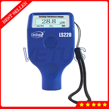 Digital Coating Thickness Gauge With Fe/NFe Measuring principle 0 to 2000um Range Portable Thickness Tester For Car paint