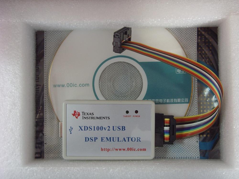 00IC XDS100V2 USB2.0 TI DSP ARM CCS4 CCS5 CCS6 WIN7 WIN8