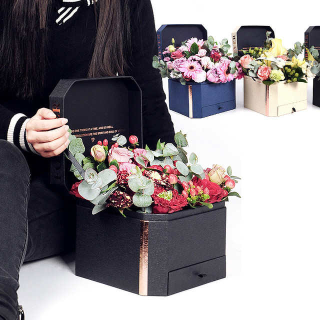 High Quality Flower Box Floral Candy Chocolate Jewelry Boxes For