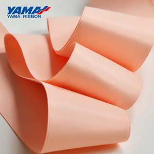 Image 3 - YAMA 100% Polyester Silky Ribbon Double Face  Printed Ribbons 22 25 32 38 mm 100yards Gift Decoration Arts and Crafts
