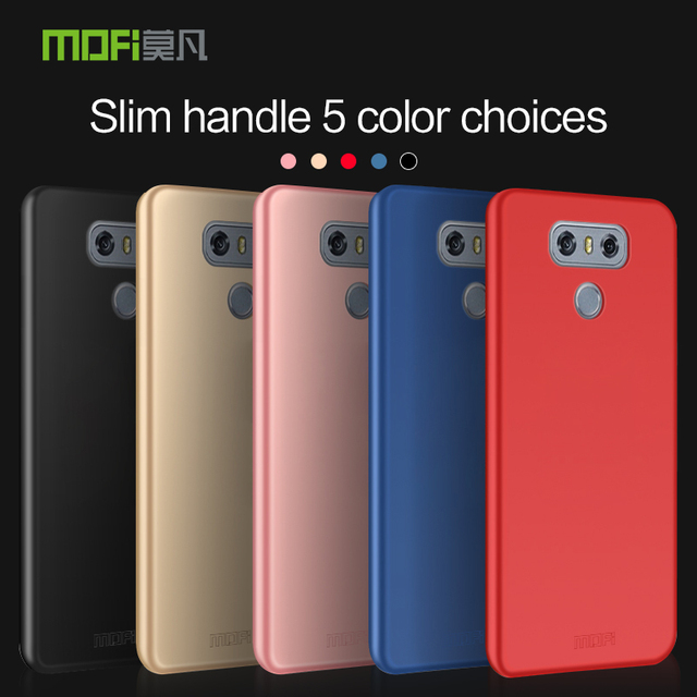 huge discount 9576a 294d3 US $5.27 12% OFF|New Arrival For lg g6 Cover Case Original MOFI Hard Case  For LG G6 Case Hight Quality Phone Shell For LG G6 5.7''-in Fitted Cases ...