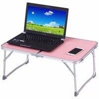 Goplus 5 Colors Portable Mini Folding Laptop Table Car Bed Sofa Office Laptop Notebook Desk Multi