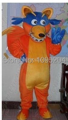 Dora'sfeiend fox Mascotte kostuums Holloween Verkleedpak Snelle - Carnavalskostuums