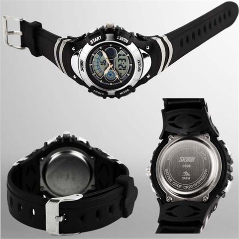 SKMEI Sports Kids Watches Children Watches LED Cartoon Silicone Quartz Digit Watch for boy&girl Student Swimming Wristwatches Islamabad