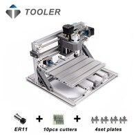 CNC 2418 With ER11 Laser Options Mini Cnc Engraving Machine Pcb Milling Machine Wood Carving Machine