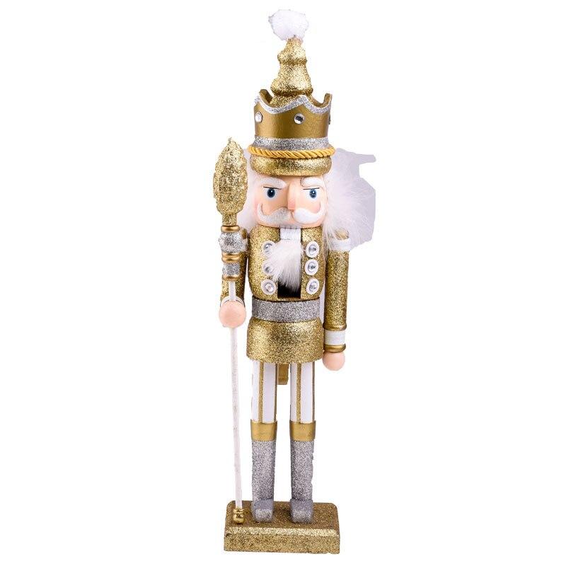 Mignon Simulation marionnette décor noël marionnette ornement décoration nouvel an Figurines Miniatures cadeaux d'anniversaire 42 CM accessoires