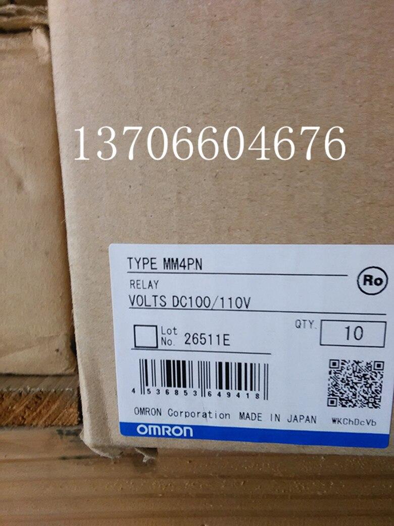 ФОТО Japan intermediate relay MM4PN-DC100 / 110V